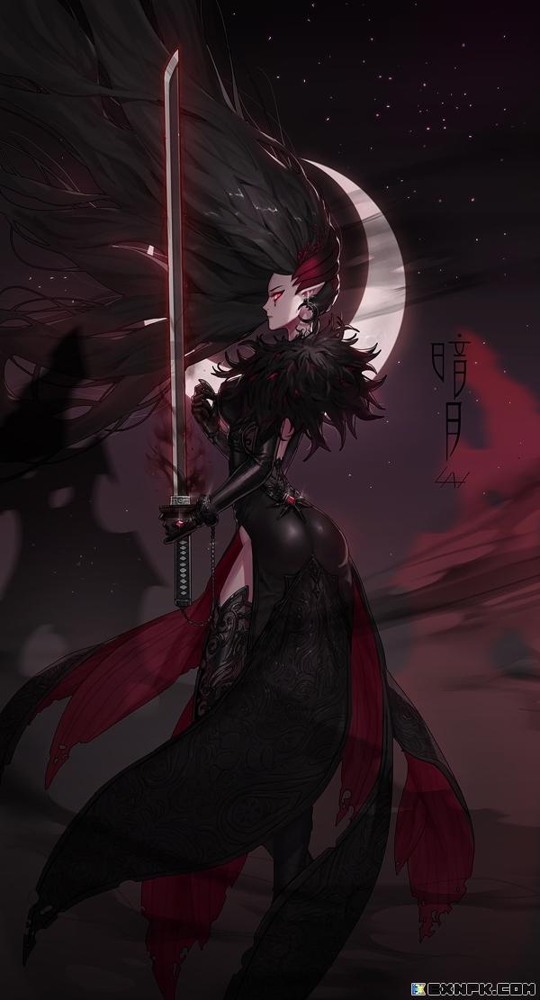 黑刀一暗月