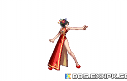 女枪3件旗袍